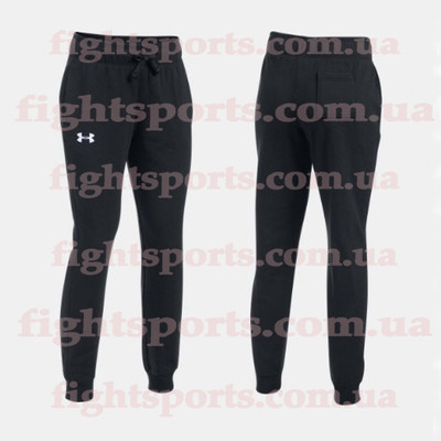 Женские штаны Under Armour Favorite Jogger Slim Leg Black